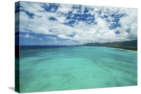 The Edge of Waimanalo-Cameron Brooks-Stretched Canvas Print
