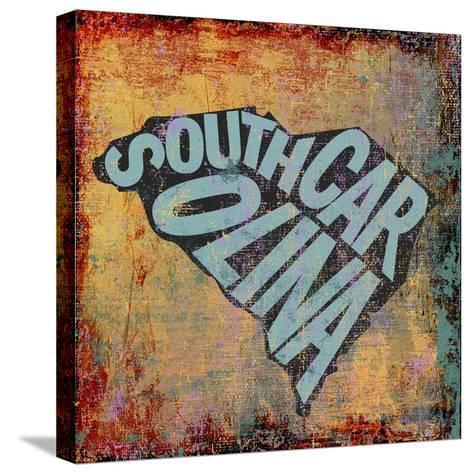 South Carolina-Art Licensing Studio-Stretched Canvas Print