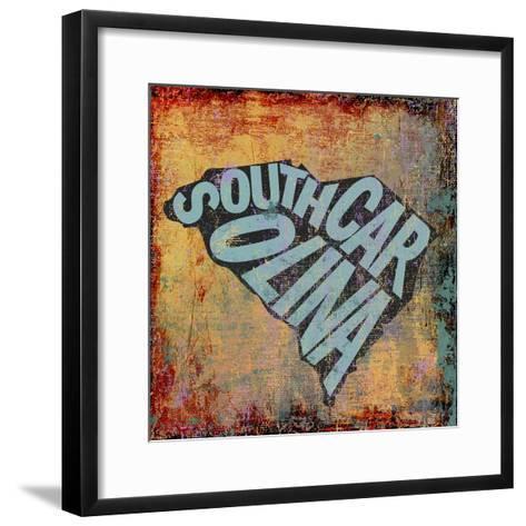 South Carolina-Art Licensing Studio-Framed Art Print