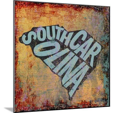South Carolina-Art Licensing Studio-Mounted Giclee Print