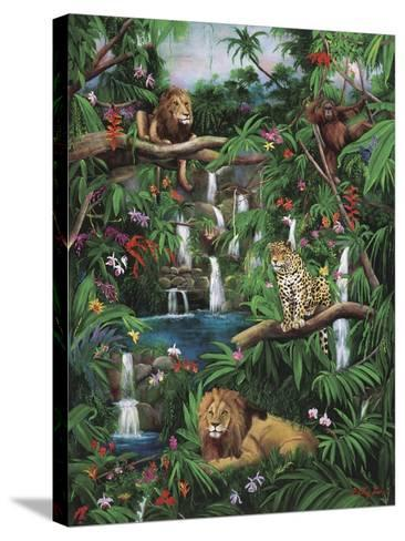 Freedom in the Jungle-Betty Lou-Stretched Canvas Print