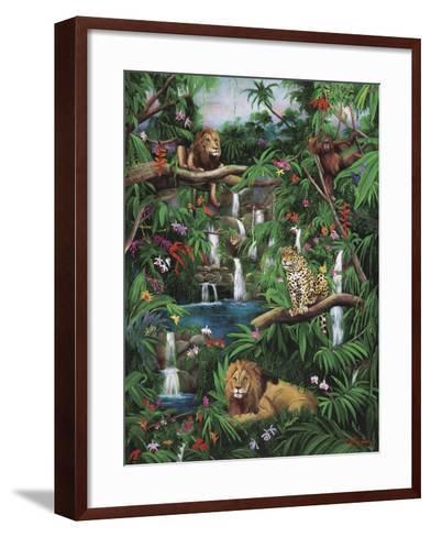 Freedom in the Jungle-Betty Lou-Framed Art Print