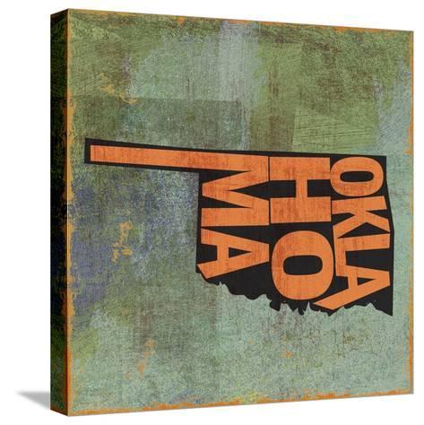 Oklahoma-Art Licensing Studio-Stretched Canvas Print