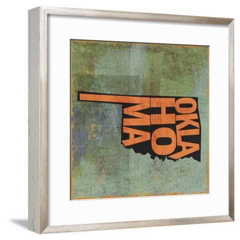 Oklahoma-Art Licensing Studio-Framed Art Print