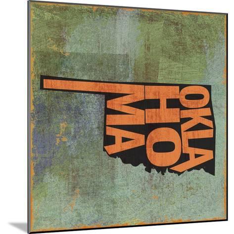 Oklahoma-Art Licensing Studio-Mounted Giclee Print