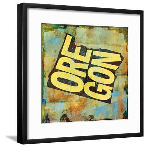 Oregon-Art Licensing Studio-Framed Art Print
