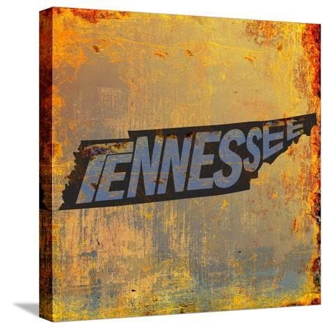 Tennessee-Art Licensing Studio-Stretched Canvas Print