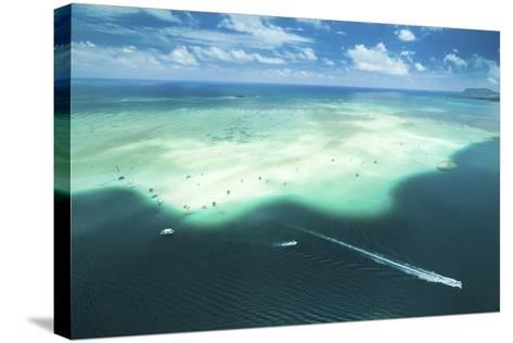 Sandbar Cruiser-Cameron Brooks-Stretched Canvas Print