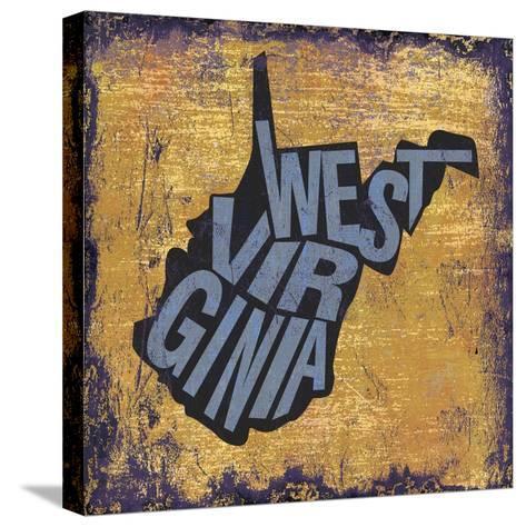 West Virgina-Art Licensing Studio-Stretched Canvas Print