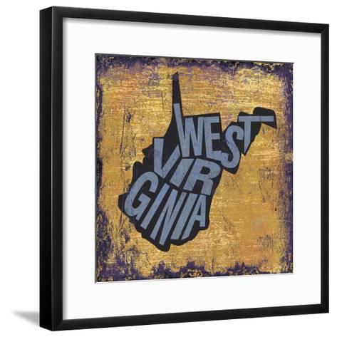 West Virgina-Art Licensing Studio-Framed Art Print