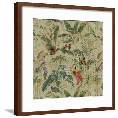 Jungle Canopy Neutral-Bill Jackson-Framed Art Print
