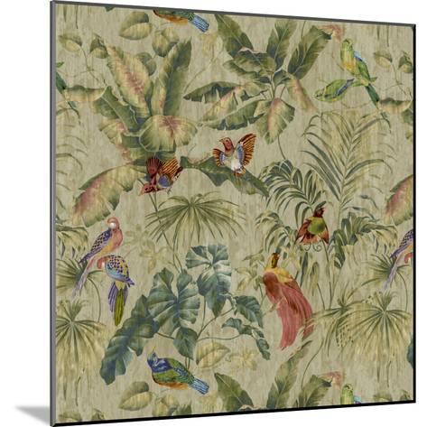 Jungle Canopy Neutral-Bill Jackson-Mounted Giclee Print