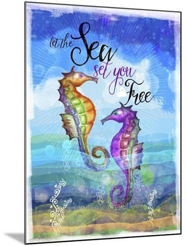 Coastal Joy 2-Asmaa' Murad-Mounted Giclee Print