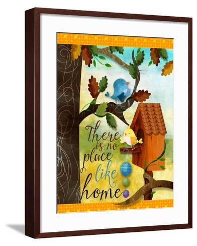 Bird House-Asmaa' Murad-Framed Art Print