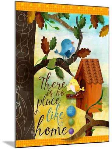 Bird House-Asmaa' Murad-Mounted Giclee Print