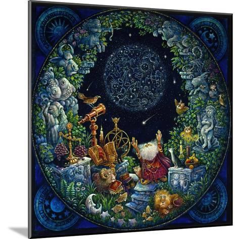 Astrologer 2-Bill Bell-Mounted Giclee Print