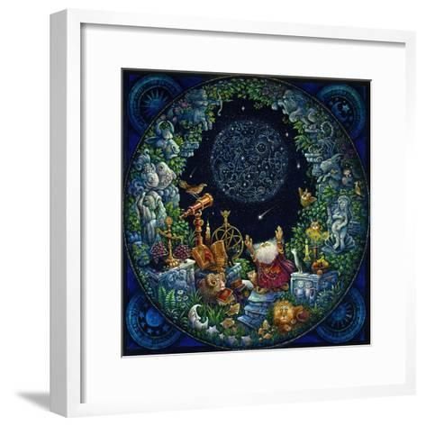Astrologer 2-Bill Bell-Framed Art Print