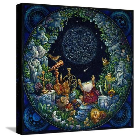 Astrologer 2-Bill Bell-Stretched Canvas Print