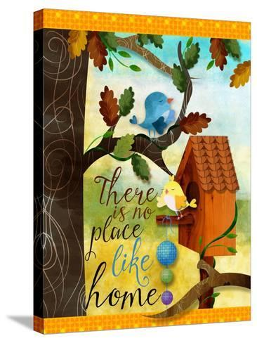 Bird House-Asmaa' Murad-Stretched Canvas Print