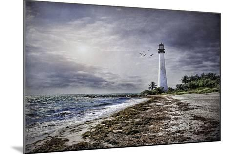 Key Biscayne Lighthouse-Barbara Simmons-Mounted Giclee Print