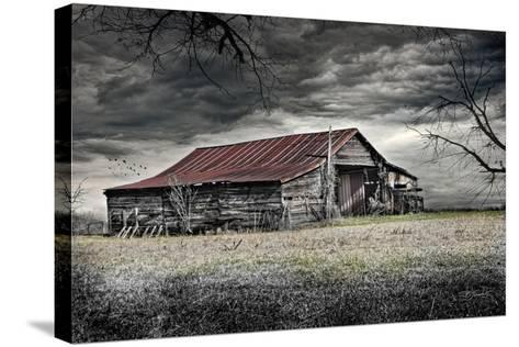Storm Barn-Barbara Simmons-Stretched Canvas Print
