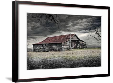 Storm Barn-Barbara Simmons-Framed Art Print