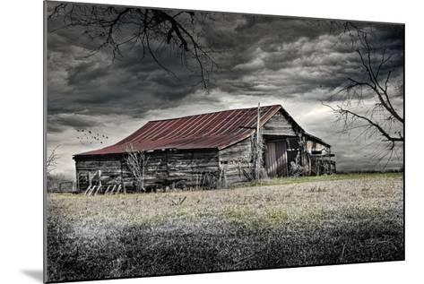 Storm Barn-Barbara Simmons-Mounted Giclee Print