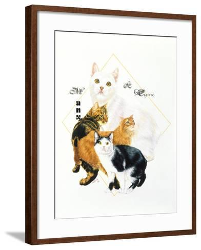 Cymric and Manx-Barbara Keith-Framed Art Print