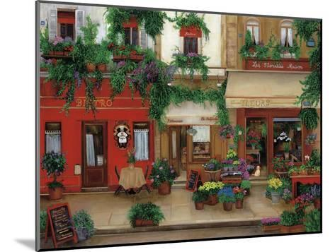 Le Bistro Rouge-Betty Lou-Mounted Giclee Print