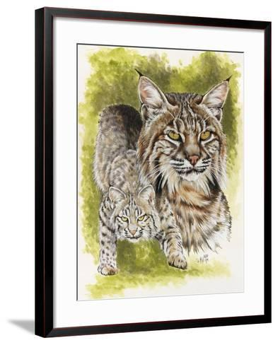 Brassy-Barbara Keith-Framed Art Print