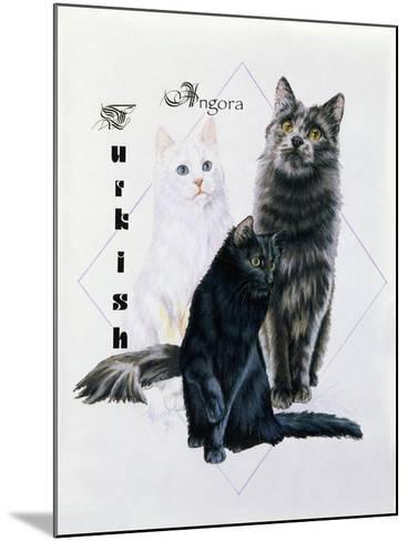 Turkish Angora-Barbara Keith-Mounted Giclee Print