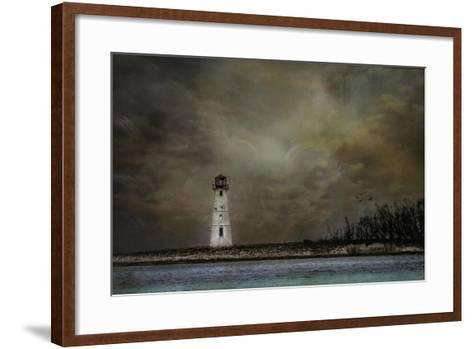 Paradise Island Lighthouse-Barbara Simmons-Framed Art Print