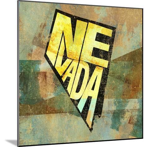 Nevada-Art Licensing Studio-Mounted Giclee Print