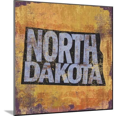 North Dakota-Art Licensing Studio-Mounted Giclee Print