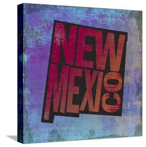 New Mexico-Art Licensing Studio-Stretched Canvas Print