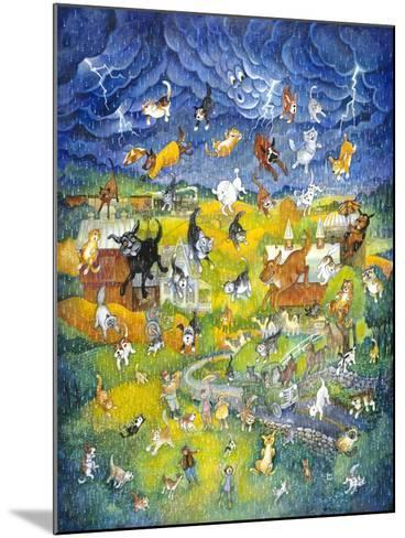 It's Raining it's Pouring-Bill Bell-Mounted Giclee Print