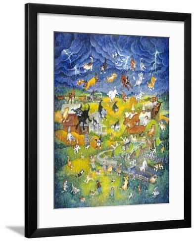 It's Raining it's Pouring-Bill Bell-Framed Art Print