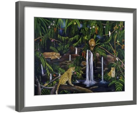 Jungle-Betty Lou-Framed Art Print