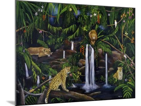 Jungle-Betty Lou-Mounted Giclee Print