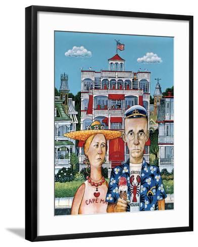 Cape May Gothic-Bill Bell-Framed Art Print