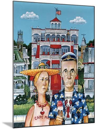 Cape May Gothic-Bill Bell-Mounted Giclee Print