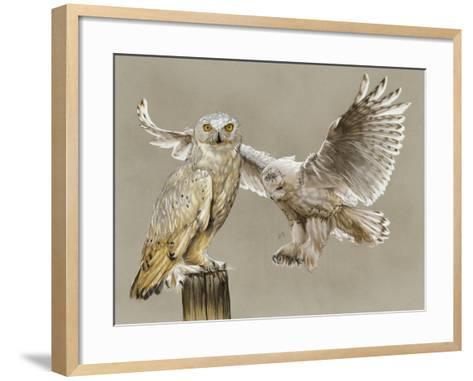 Halcyon-Barbara Keith-Framed Art Print
