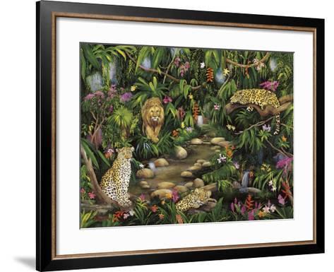 Exotic Jungle-Betty Lou-Framed Art Print
