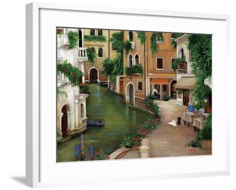 Best Friends in Venice-Betty Lou-Framed Art Print