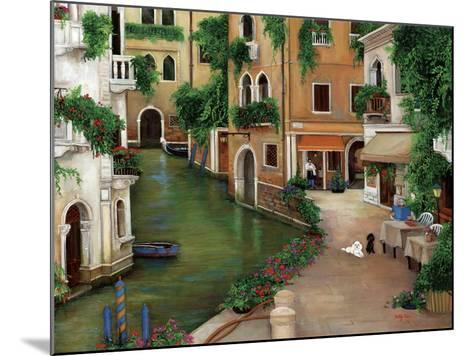 Best Friends in Venice-Betty Lou-Mounted Giclee Print