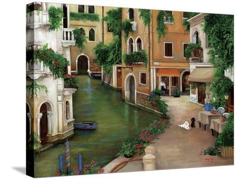 Best Friends in Venice-Betty Lou-Stretched Canvas Print