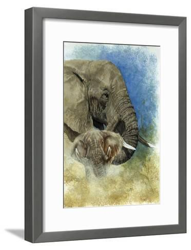 Stalwart-Barbara Keith-Framed Art Print