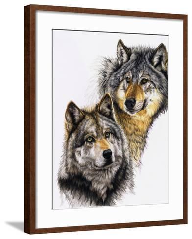 Splendid Companions-Barbara Keith-Framed Art Print