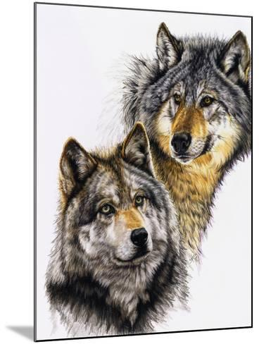 Splendid Companions-Barbara Keith-Mounted Giclee Print