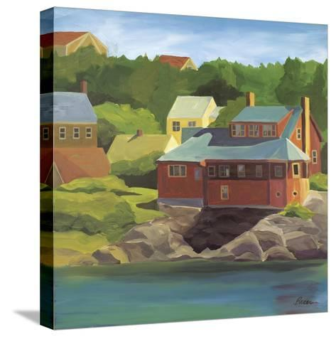 Red House Monhegan-Catherine Breer-Stretched Canvas Print